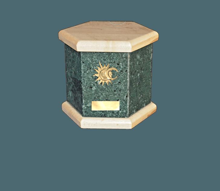Antonio Green Cremation Urn