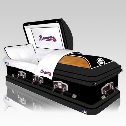 Atlanta Braves Casket