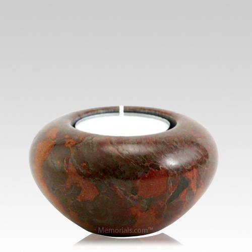 Autumn Marble Candle Keepsake Urn