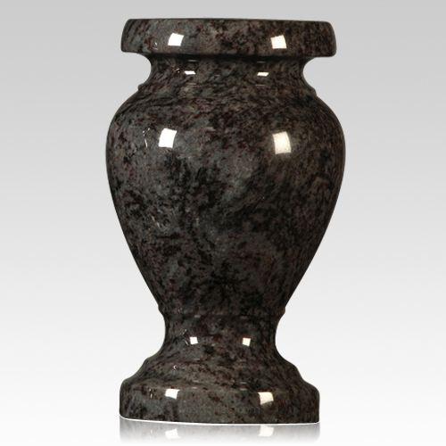 Bahama Blue Granite Vase