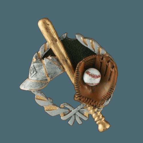 Baseball Fan Rosewood Cremation Urn