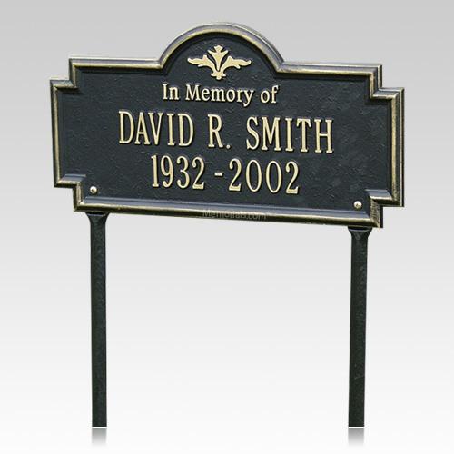 Basilica Lawn Dedication Plaque