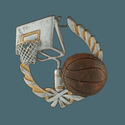 Basket Ball Walnut Cremation Urn