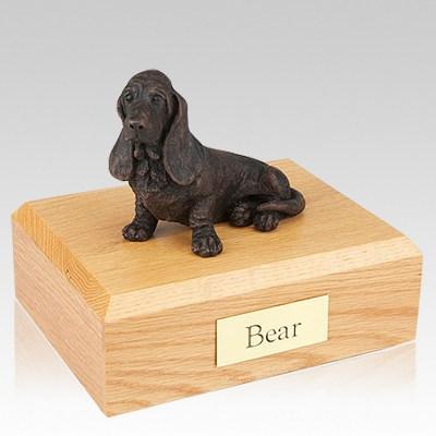Basset Hound Bronze Dog Urns