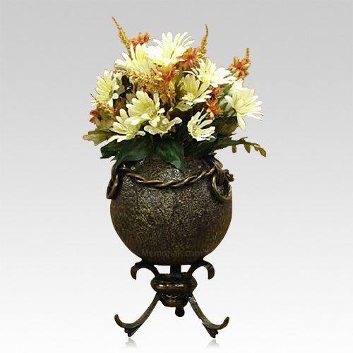 Bastion Bronze Cremation Urn