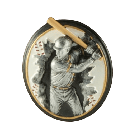 Batter Rosewood Cremation Urn