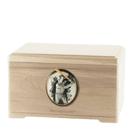 Batter Maple Cremation Urn