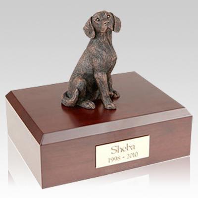 Beagle Bronze Dog Urns