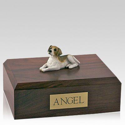 Beagle Laying Dog Urns