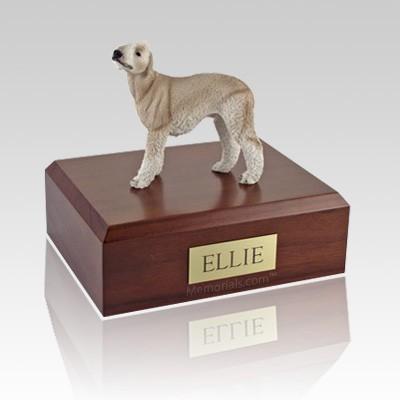 Bedlington Terrier Tan Dog Urns