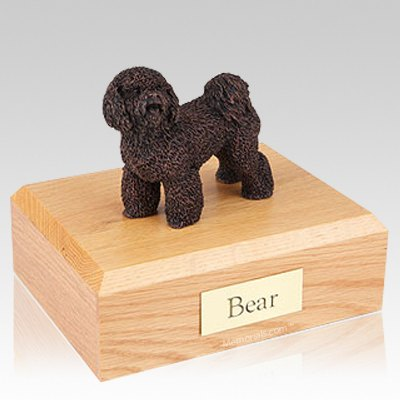 Bichon Frise Bronze Dog Urns