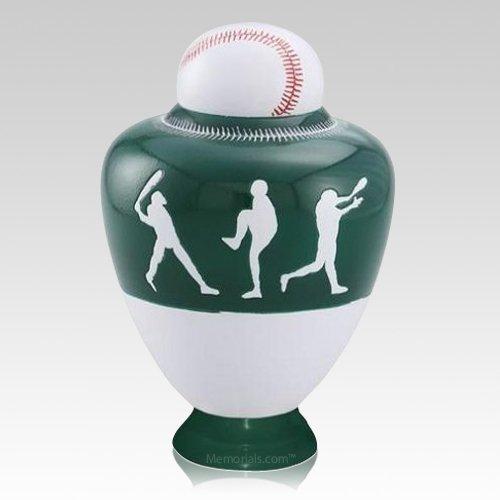 Big League Green Cremation Urn