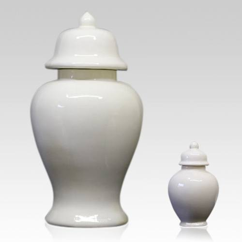 Blanc Ceramic Pet Urns