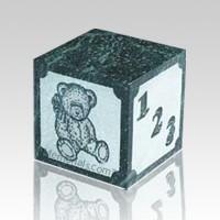 ABC Teddy Block Infant Urn