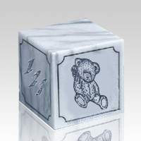 ABC Teddy Block Marble Urn
