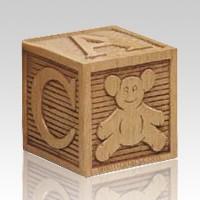Building Blocks Child Cremation Urn