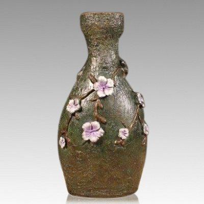 Blossom Bronze Cremation Urn