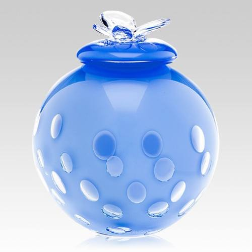 Blue Butterfly Child Cremation Urn