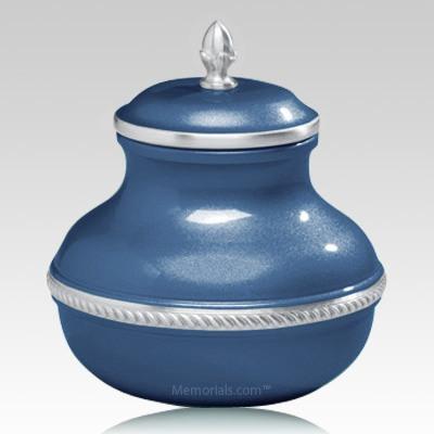 Blue Chastity Cremation Urn