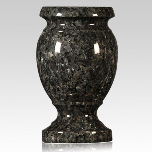 Blue Pearl Granite Vase