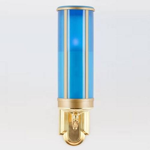 Blue Wall Mount Memorial Candle