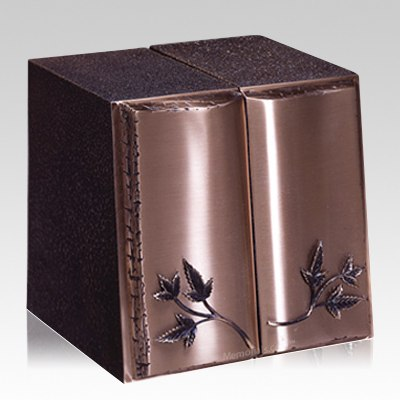 Book of Leaves Companion Cremation Urn