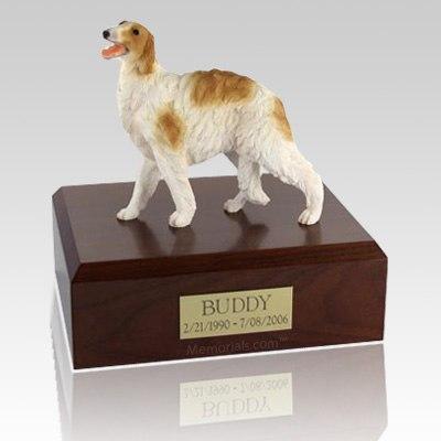 Borzoi Standing Dog Urns