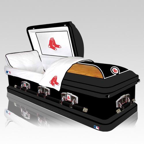 Boston Red Sox Casket