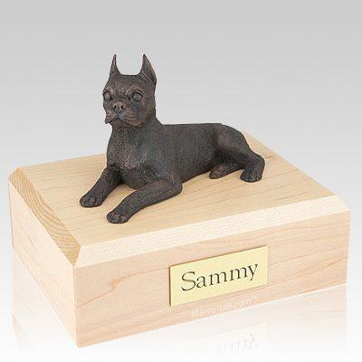 Boston Terrier Bronze Dog Urns