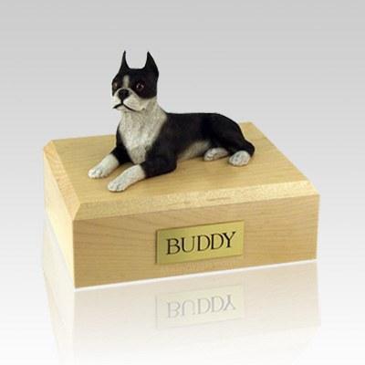 Boston Terrier Dog Urns