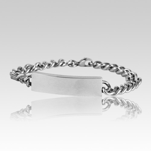 Male Cremation Ashes Bracelet