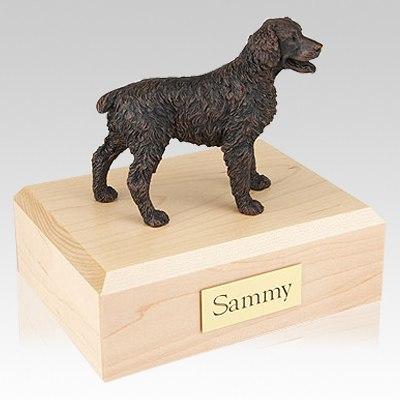 Brittany Bronze Dog Urns