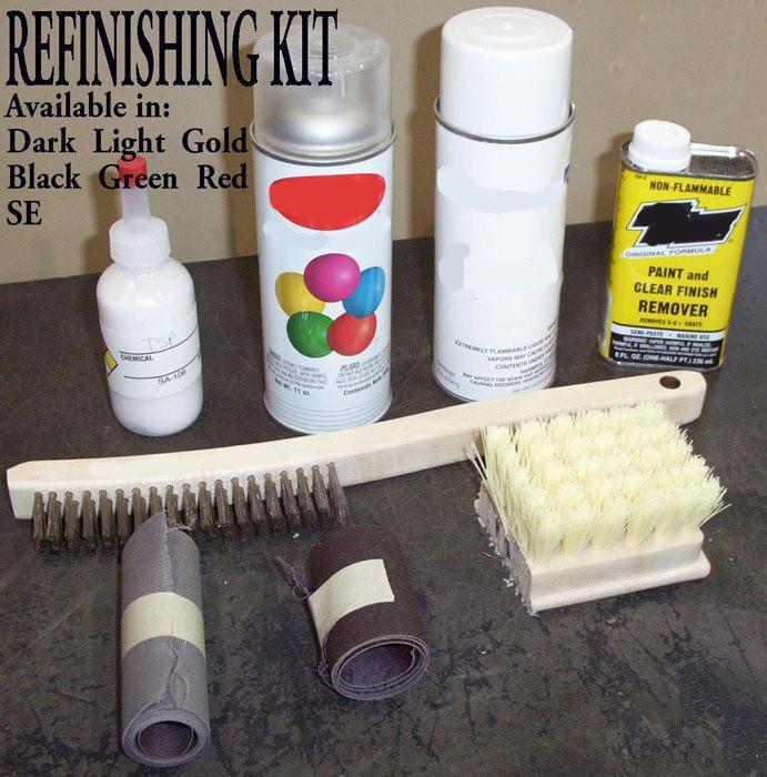 Grave Marker Refinishing Kit
