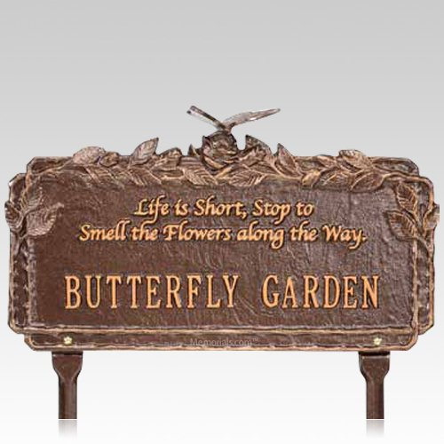 Butterfly Garden Dedication Plaque