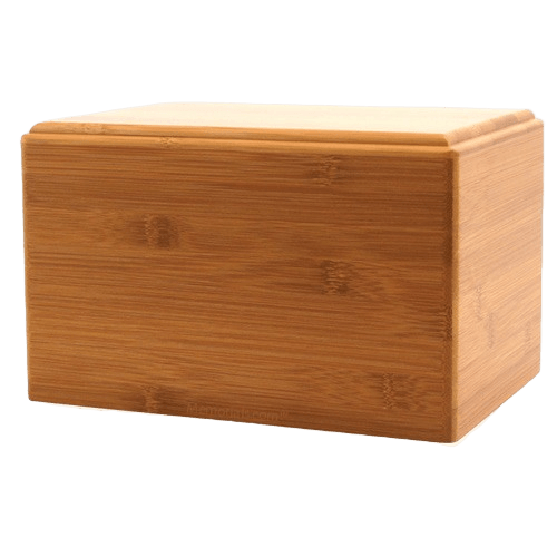 Bamboo Eternity Large Wood Urn