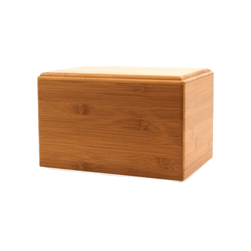 Bamboo Eternity Extra Small Wood Urn