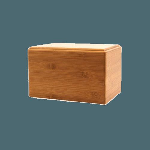 Bamboo Eternity Keepsake Wood Urn