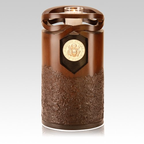 Infinity Wood Air Force Cremation Urn