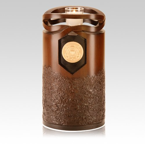 Infinity Wood US Seal Cremation Urn