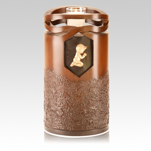 Infinity Wood Children Cremation Urn
