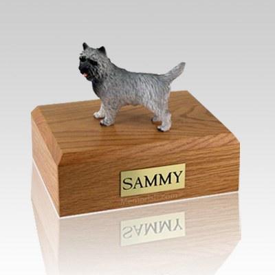 Cairn Terrier Gray Dog Urns