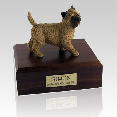 Cairn Terrier Walking Dog Urns