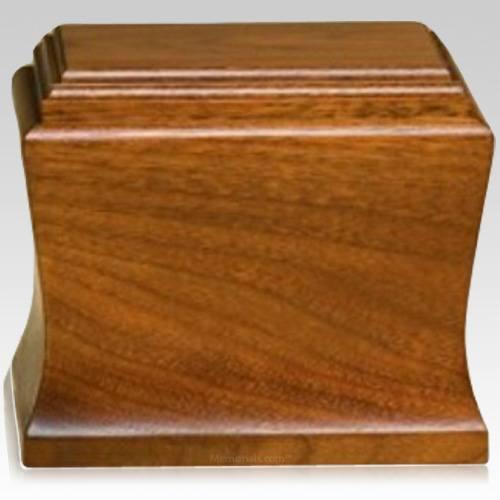 Cambridge Child Mahogany Cremation Urn
