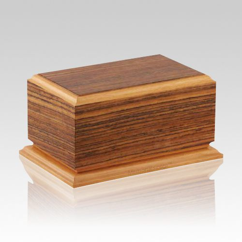 Camile Wood Cremation Urn