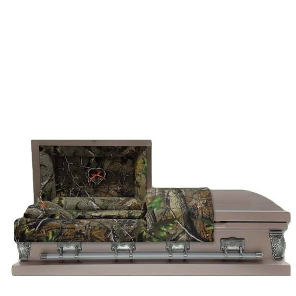 Camo Copper Child Caskets