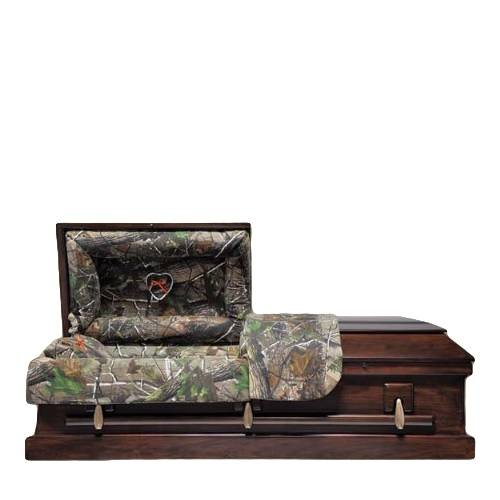 Camo Wood Child Caskets