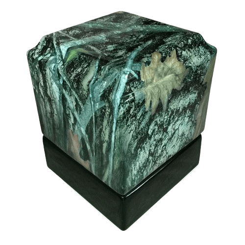 Camouflage Ceramic Military Urn