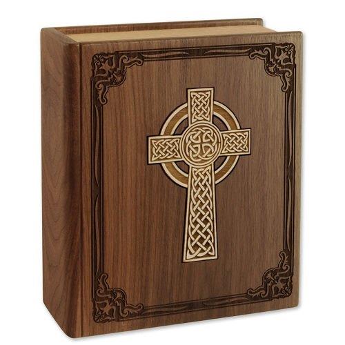 Celtic Bible Cremation Urn