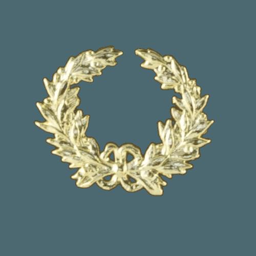 Champion Wreath Walnut Cremation Urn