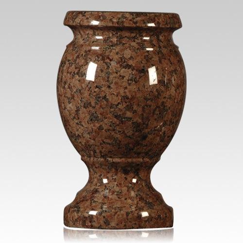 Chapel Rose Granite Vase
